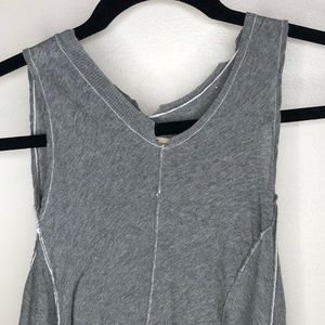 ALL SAINTS De-Constructed Abstract Sleeveless Top